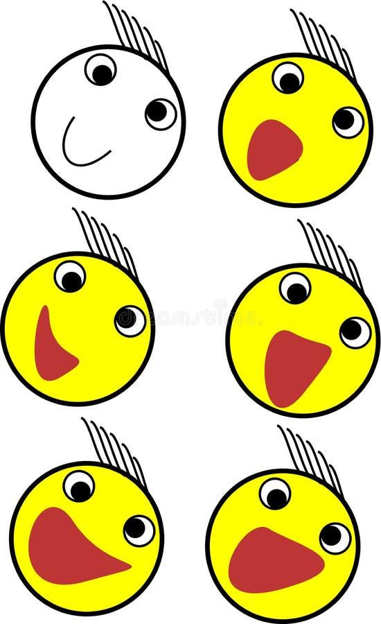 Emoji set stock images