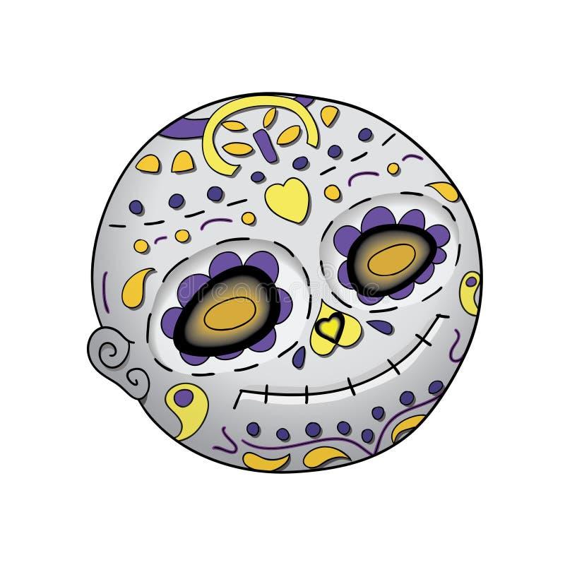 Halloween  Emoji Astonished  Day Of The Dead  Dia De Los