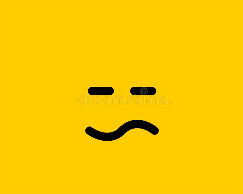 emoji smile icon vector symbol yellow background smiley face cartoon character wallpaper emoji smile icon vector symbol 154357890