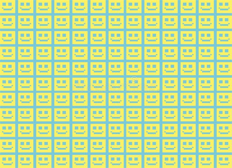Emoji tło obraz royalty free