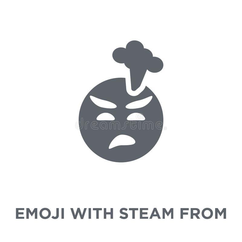Emoji Z kontrparą Od nos ikony od Emoji kolekcji ilustracja wektor
