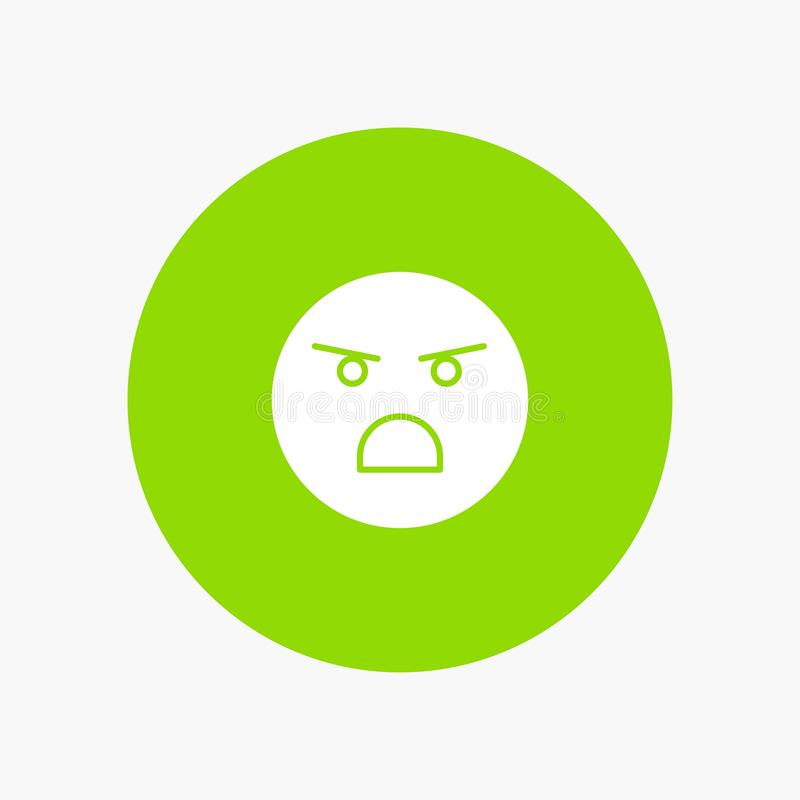 Emojis, émotion, faible, sentiment illustration stock