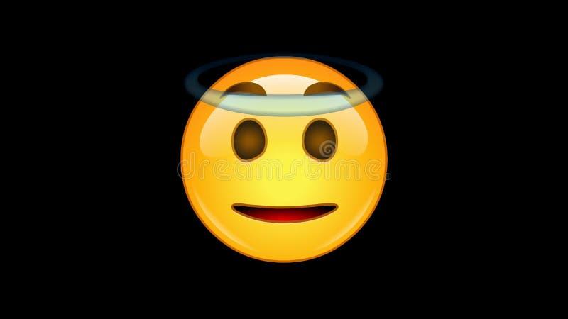 4 emojis - paquet 6 de 6 - - loopable - canal alpha animé banque de vidéos