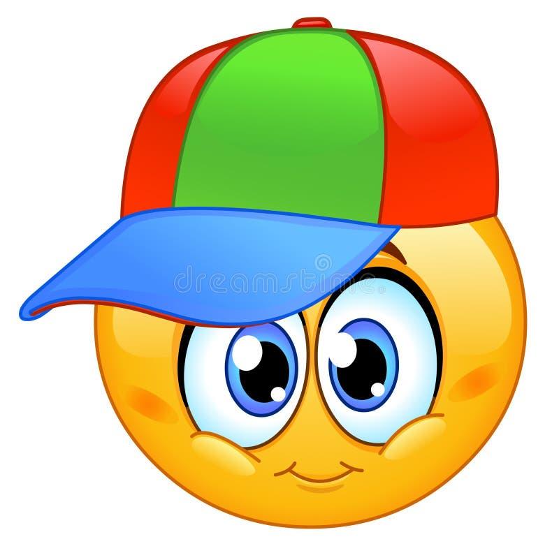 Emoticon del bambino illustrazione di stock