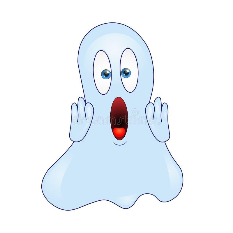 Emoticon del fantasma del vector libre illustration