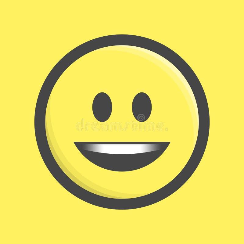 Emoticon ikony wektor ilustracja wektor