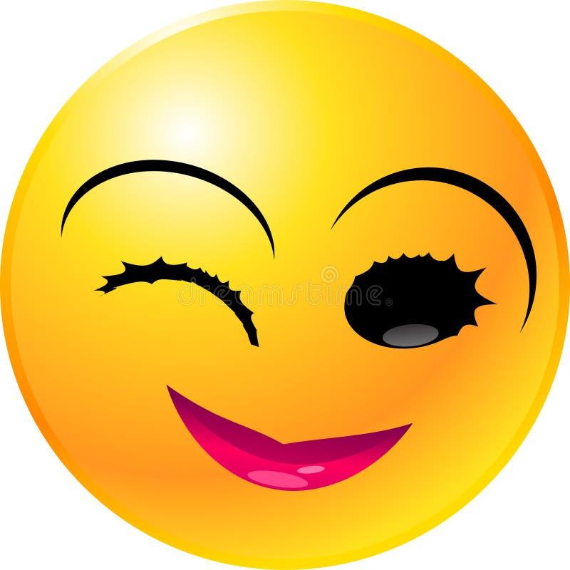 Emoticon Smiley Face stock illustration