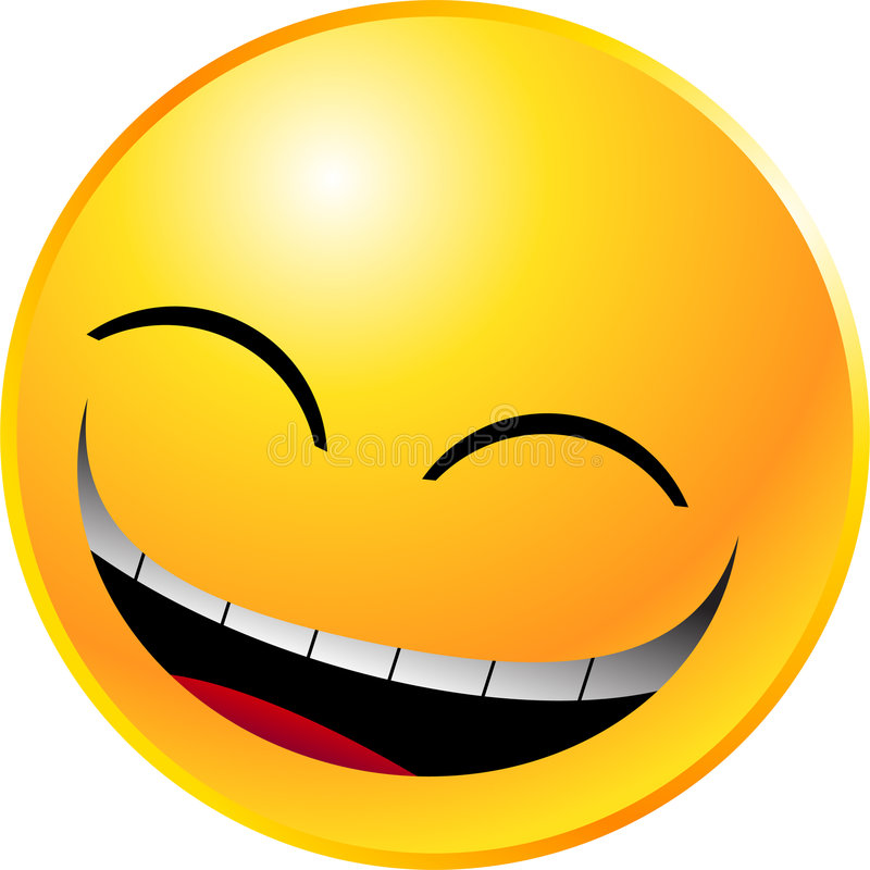 Emoticon Smiley Face Stock Photos