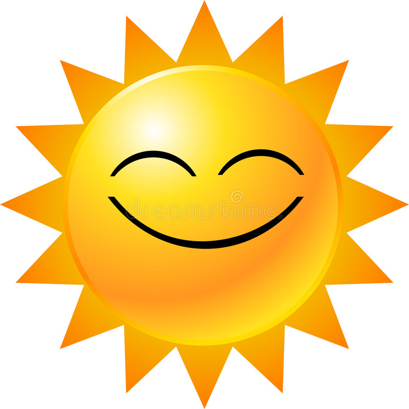 Emoticon-smiley-Gesicht lizenzfreie abbildung