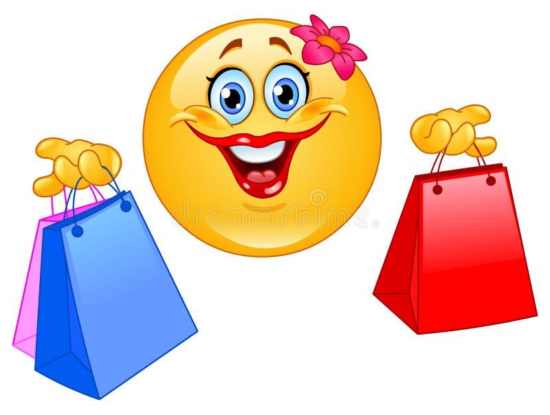emoticon zakupy