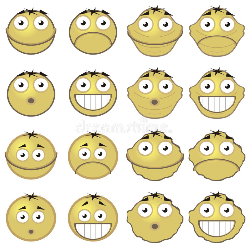 Free Emoticons Stock Image - 5492021