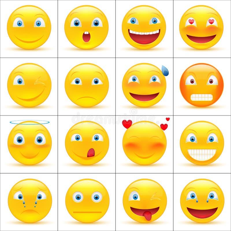emoticons lizenzfreie abbildung