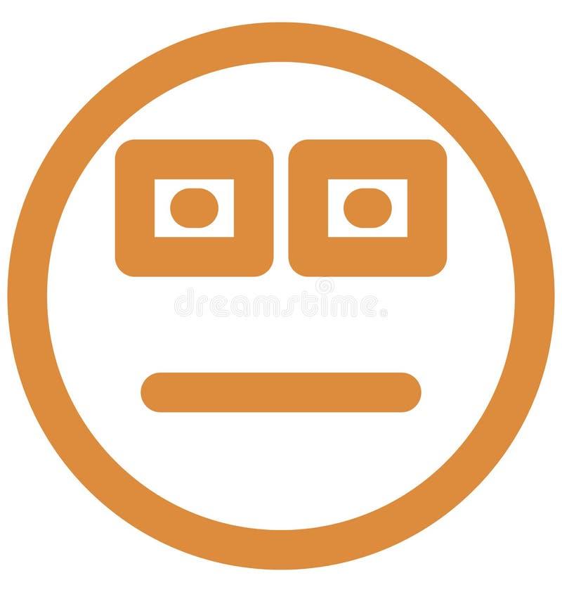 emoticons, fajt?apy Wektorowa Odosobniona ikona kt?ra mo?e ?atwo redagowa? lub modyfikowa? ilustracji
