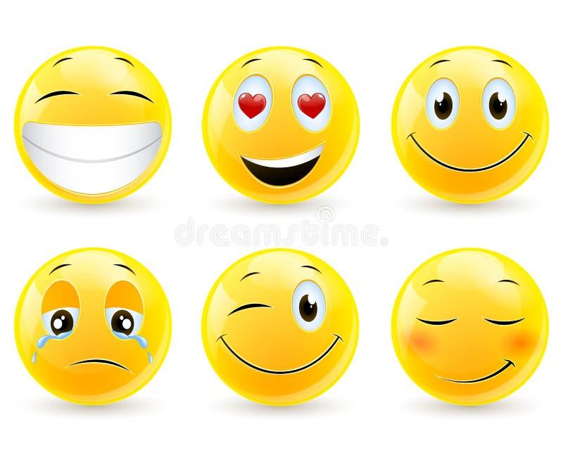 Emoticons - iconos libre illustration