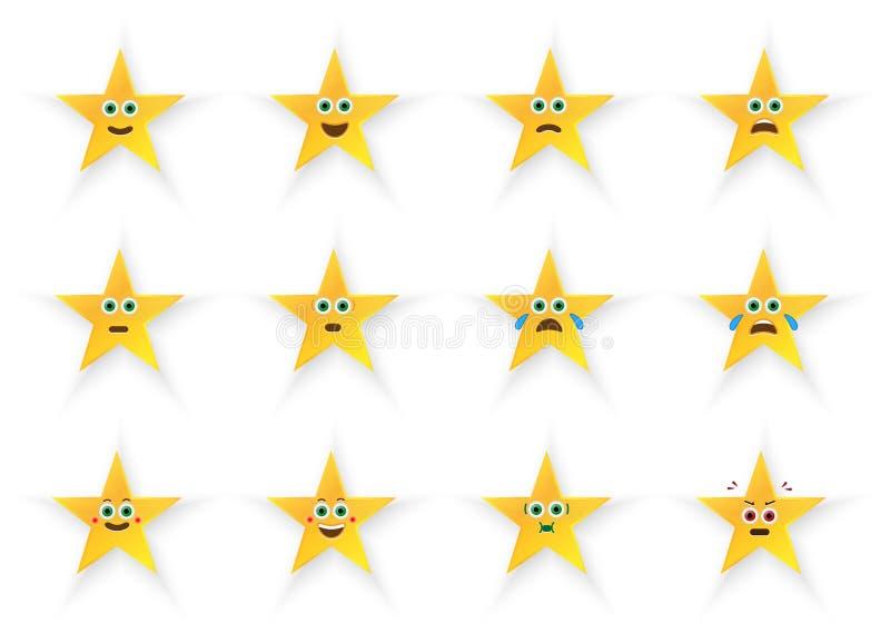 Download Emoticons Set stock illustration. Image of decoration - 30598003