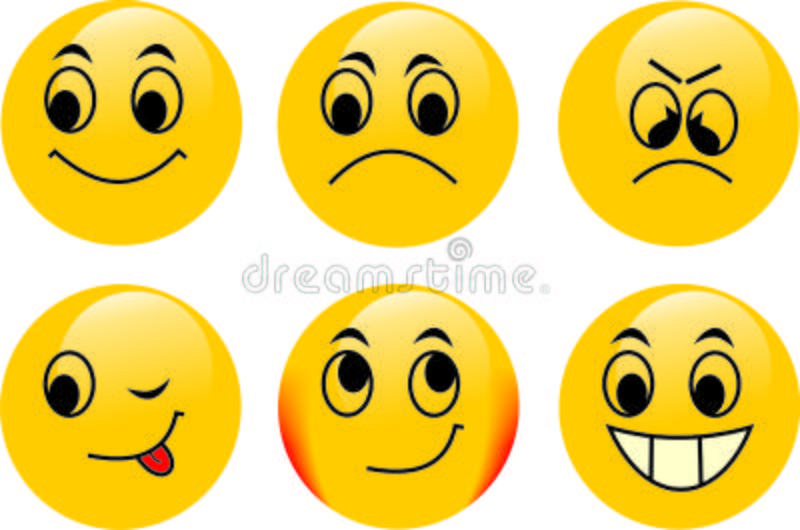 emoticonsvektor royaltyfria foton