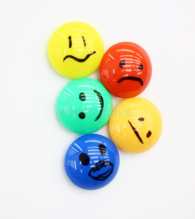 Emoties royalty-vrije stock afbeelding