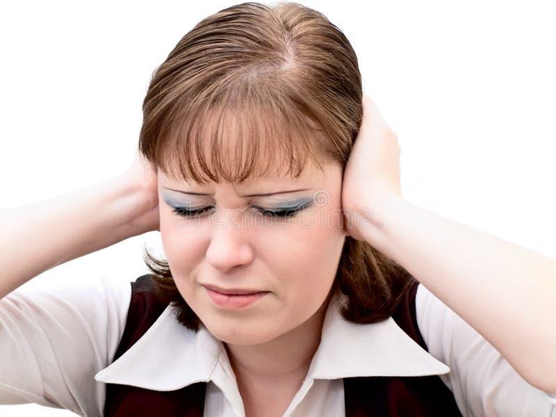 Emoties van lawaai stock afbeeldingen
