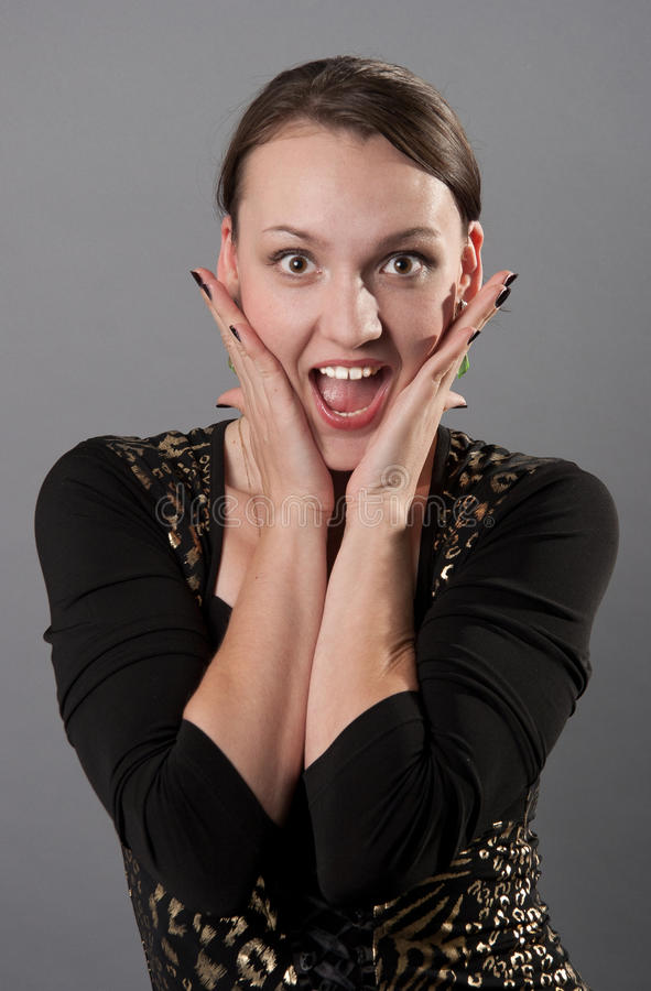 Download Emotion stock image. Image of people, caucasian, sudden - 26244797