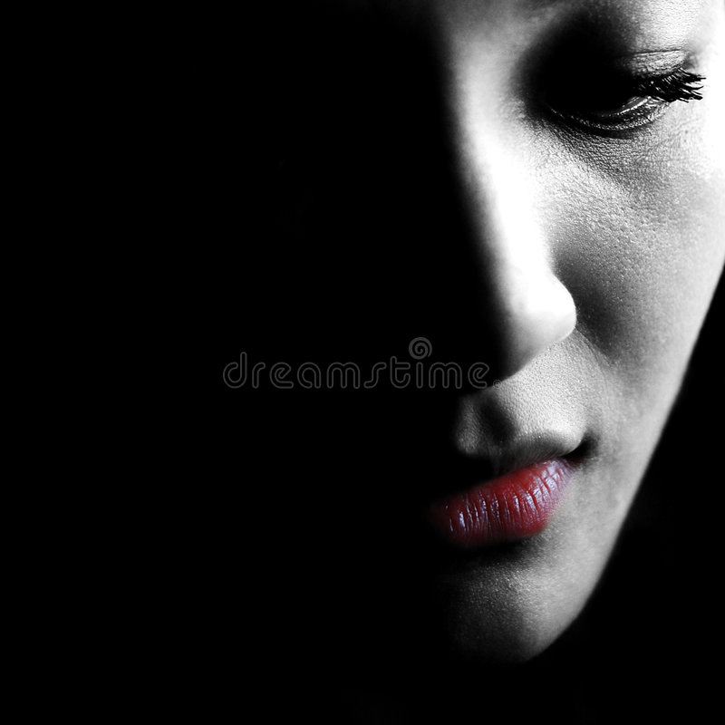 Download Emotional girl stock image. Image of emotional, lost, moody - 4085553