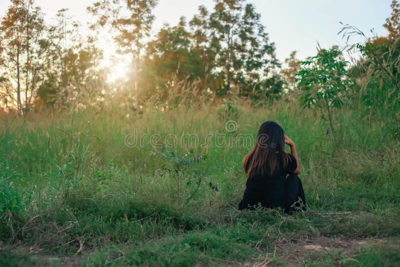 Emotional loneliness heartbroken alone on background royalty free stock photo
