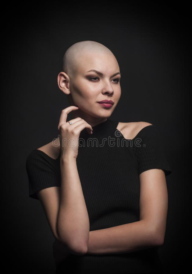 Bald Girl Stock Images, Royalty-Free Images & Vectors
