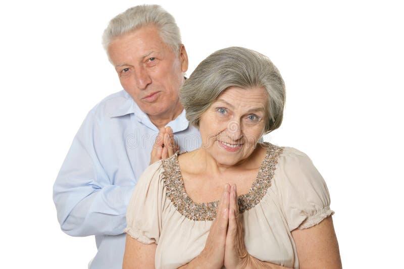 Download Emotional Senior Couple Stock Photo - Image: 40159404