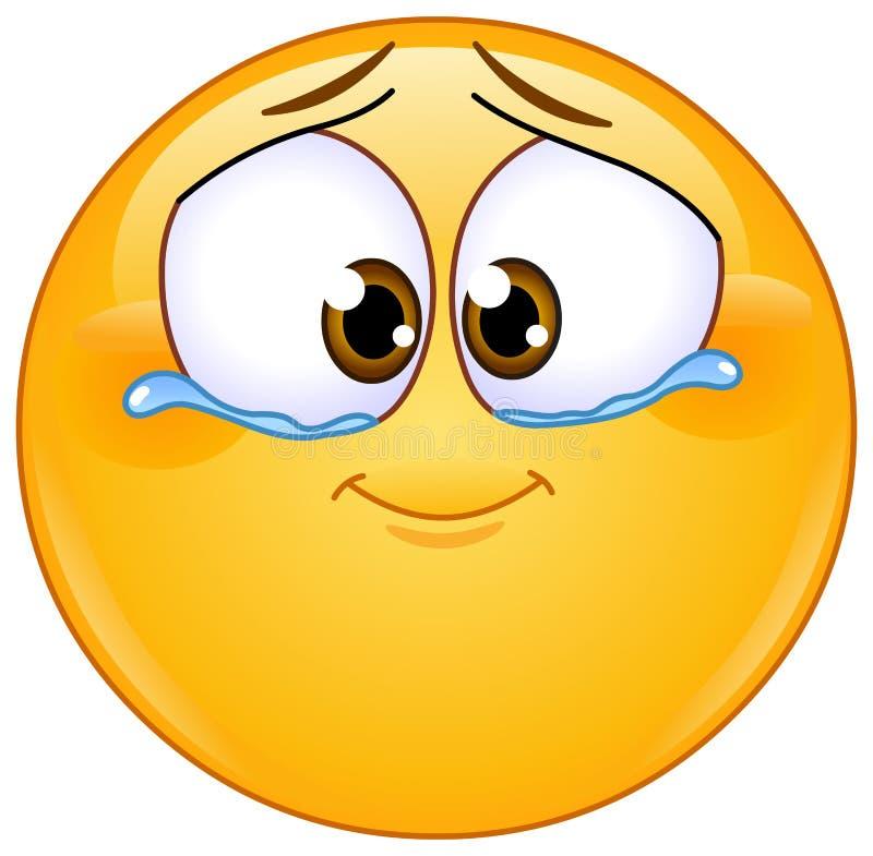 Free Emotional Tears Of Joy Emoticon Stock Photography - 210443372
