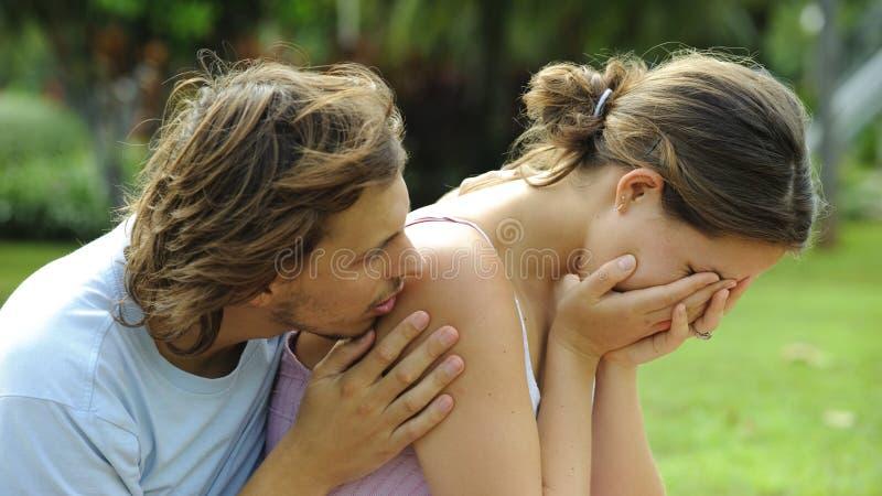 Emotioneel stock afbeelding