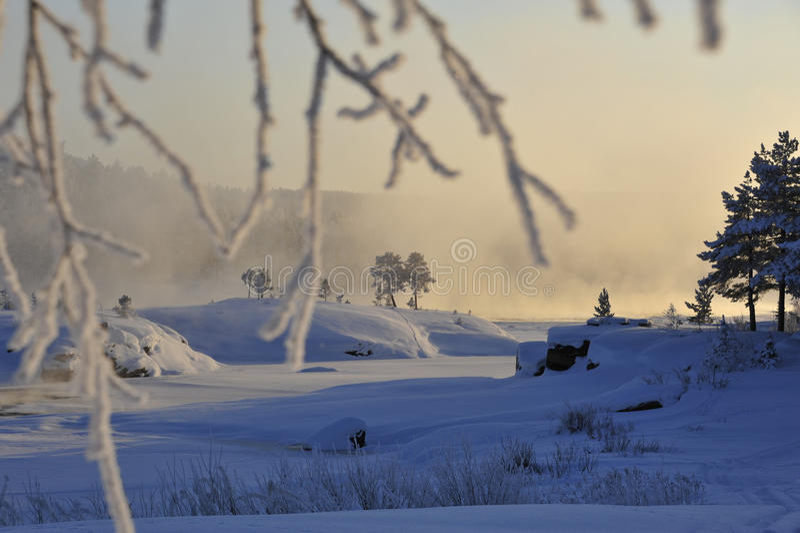 emotionell vinter fotografering för bildbyråer