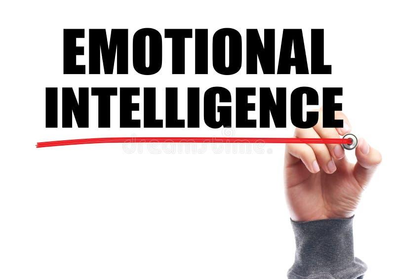 Emotionellt intelligensbegrepp arkivbild