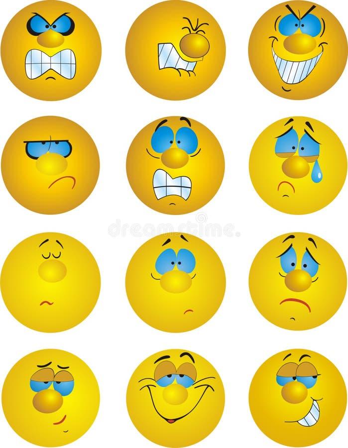 Download Emotions stock illustration. Image of love, smile, pleasure - 6383651