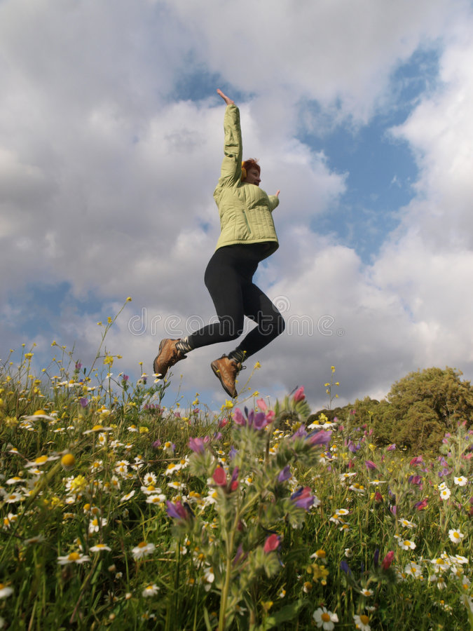 Download Emotions stock image. Image of mood, jump, emotions, nature - 8799735