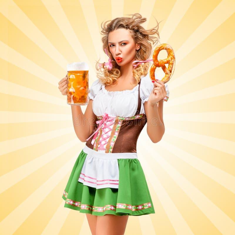 Emotions and Oktoberfest. royalty free stock photo
