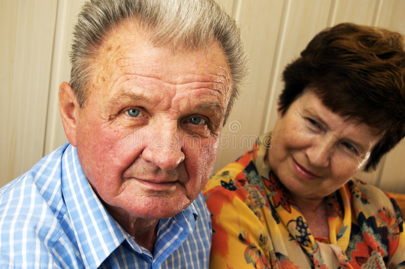 Download Emotions Between Senior Couple Stock Image - Image: 6423347