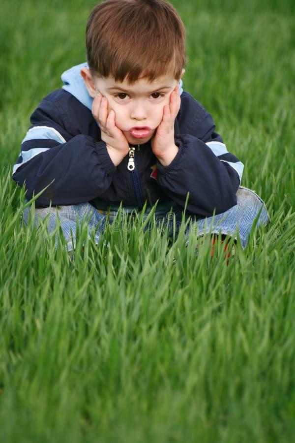 Emozioni del bambino fotografia stock libera da diritti