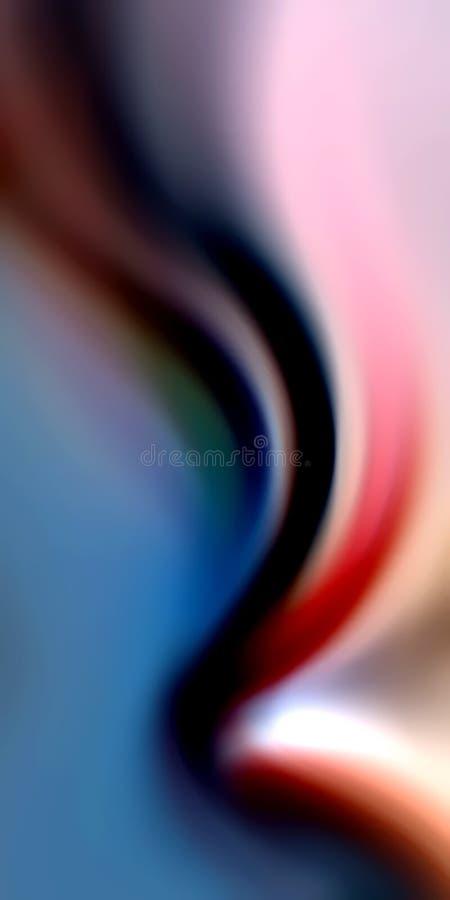 Empañe el papel pintado colorido del fondo imagenes de archivo