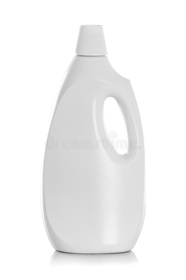 Empacotamento detergente do produto da garrafa ou de limpeza imagens de stock royalty free