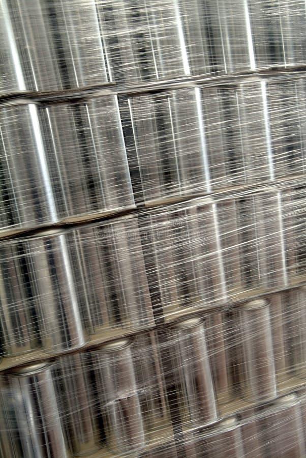 Empacotamento industrial imagens de stock royalty free