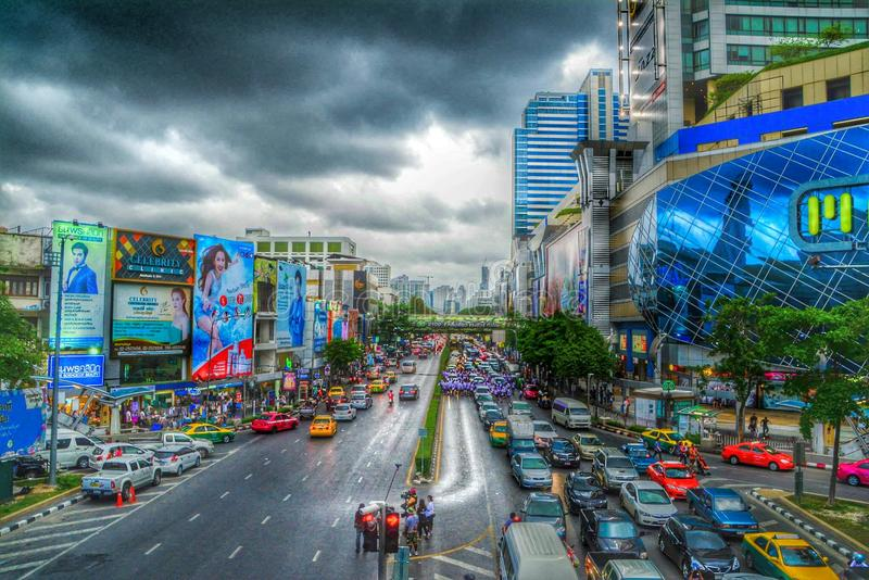Empalme de Bangkok imágenes de archivo libres de regalías