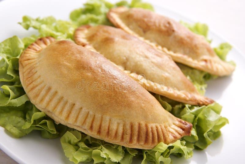 empanada κοτόπουλου στοκ φωτογραφία