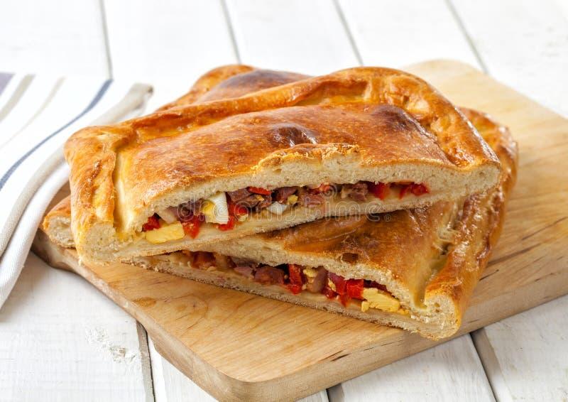 Empanada, заполненное тесто печенья стоковое фото
