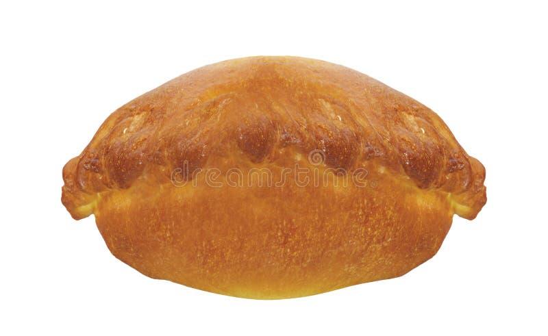 Empanada, пирог мяса на белизне стоковое изображение rf