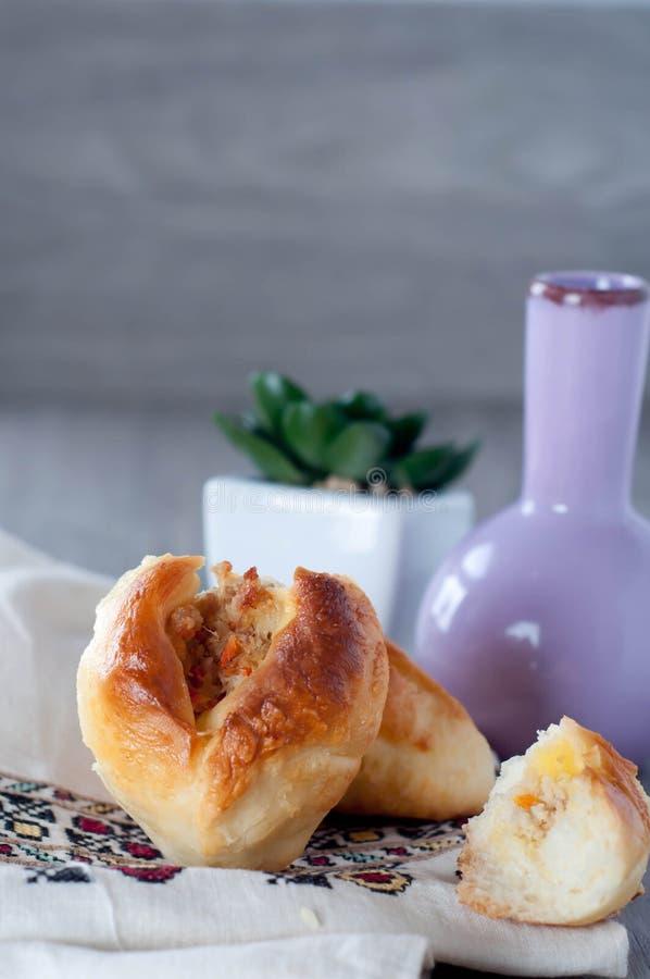 Empanada, пирог мяса стоковые изображения rf
