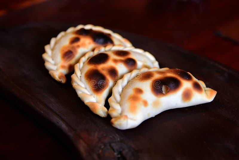Empanada, пирог мяса стоковое изображение