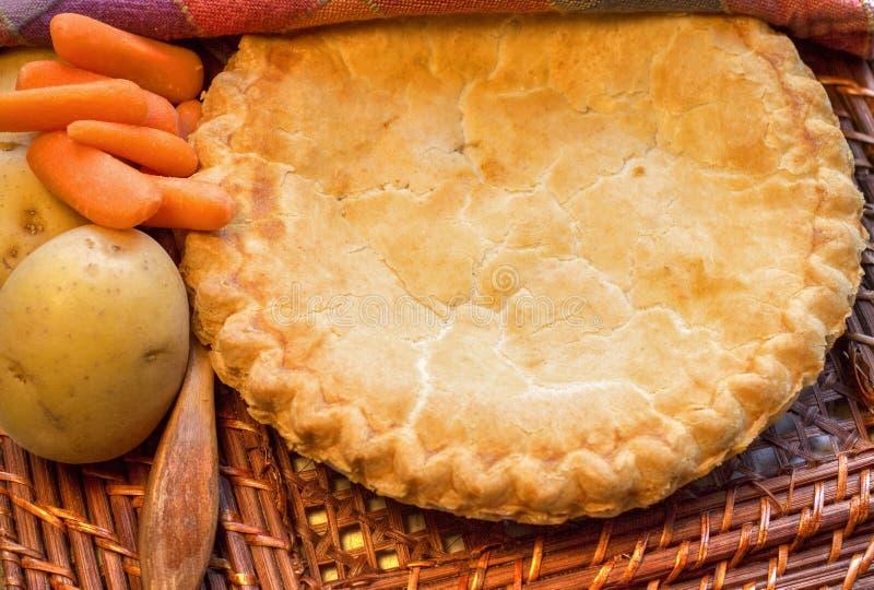 Empanada caliente del pollo imagen de archivo libre de regalías