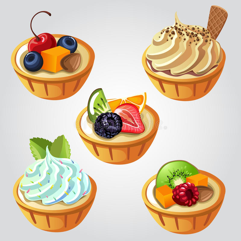 Empanada de la fruta libre illustration