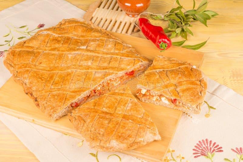 Empanada Gallega lizenzfreies stockbild