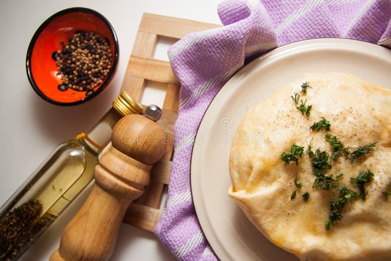 Download Empanada Hecha En Casa Del Queso Imagen de archivo - Imagen de dining, placa: 64213267