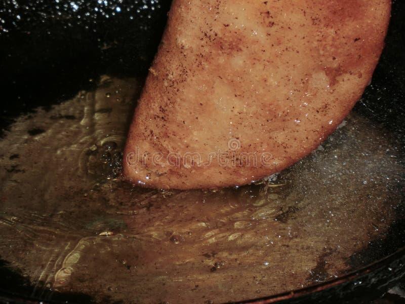 Empanada que es frito fotos de archivo